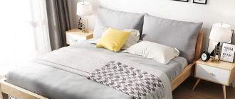 сканди спальня на фото