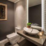 3D плитка в ванной