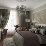 Спальня в стиле современный прованс
