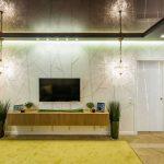 Дизайн гостиной 20 метров в современном стиле. Фото