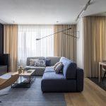Дизайн интерьера 20-метровой гостиной в скандинавском стиле