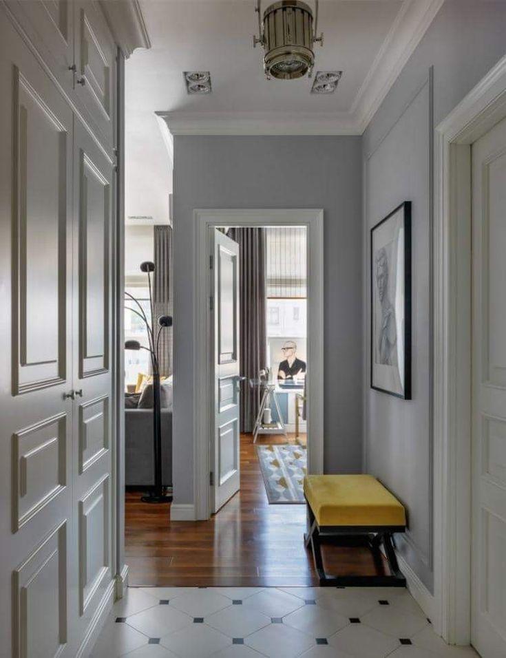 Дизайн коридора в квартире Дизайн in[ex]terior by Solnyshkova, Солнышкова Ольга