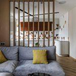 Дизайн кухни гостиной 20 кв м. с перегородкой