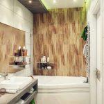 Дизайн маленькой ванной 4 метра, совмещенной с туалетом