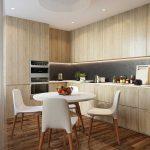 Кухня-гостиная 18 кв. м. Фото проекта
