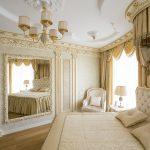 Отделка спальни в классическом стиле
