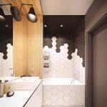 Дизайн ванной комнаты 4 кв. м без туалета
