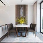 Гостиная, совмещенная со столовой