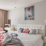 Интерьер небольшой спальни 12