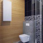 Интерьер ванной 3 кв. метра