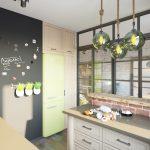 Дизайн квартиры 45 кв. м. в стиле лофт. Фото проекта