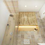 маленькая плитка в ванну