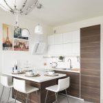 Современная кухня-гостиная Дизайн Бриц Анна ArchIdea