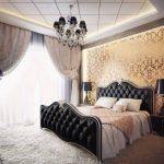 Неоклассика в спальне