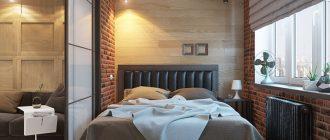 Дизайн спальни 14 и 13 кв. м - фото современных решений