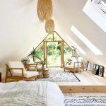 Подиум для разделения спальни и гостиной