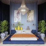 спальня Purist Blue