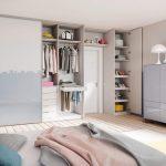 Дизайн гордиробной комнаты