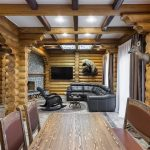 Интерьер деревянного дома внутри: фото лучших решений для загородного дома