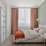 Розовые или сиреневые шторы