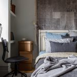 Скандинавский стиль в интерьере спальни современной квартиры