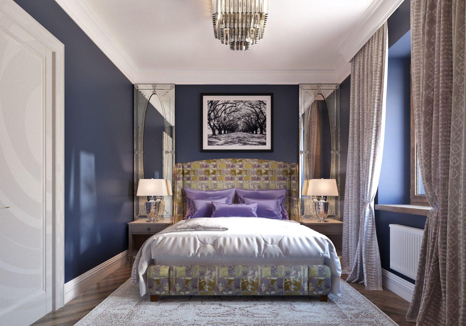 Дизайн спальни 12 кв м как сделать небольшую комнату уютной