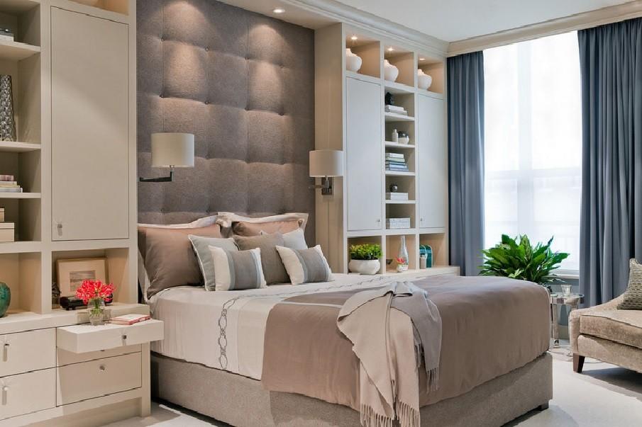 четвертый вариант планировки спальни 12 кв. м