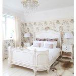 Цвета спальни в стиле прованс