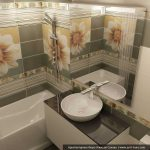 Ванная комната 3 метра с бойлером