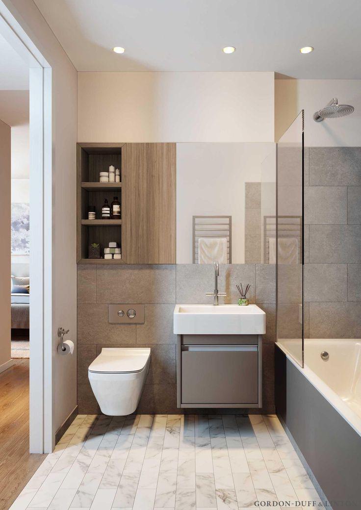 Планировка ванной площадью 4 кв. м