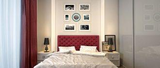 Дизайн спальни 12 кв. метров. Фото современных интерьеров